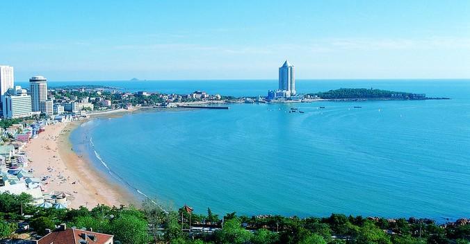 【景点】青岛第一海水浴场