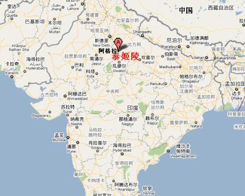 印度旅游地图_甘肃国泰国际旅行社