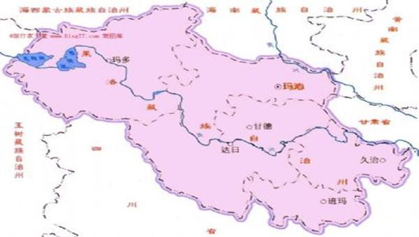 青海省果洛州旅游地图_甘肃国泰国际旅行社