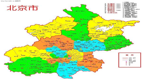 北京地图_甘肃国泰国际旅行社