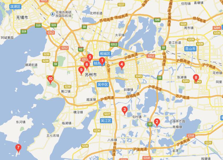 江苏电子地图