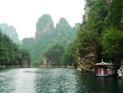 张家界宝峰湖景区