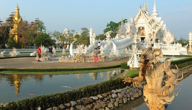 泰国龙坤艺术庙
