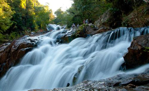 达坦拉瀑布