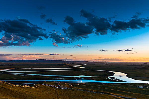 唐克黄河第一湾