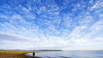 美丽纯净的地方――青海湖