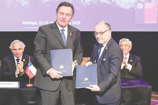 智利阿根廷签协议 中国公民明年起可一个签证游两国