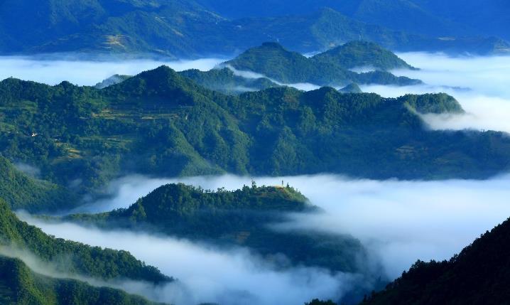 康县,一个不要门票的生态旅游大景区!