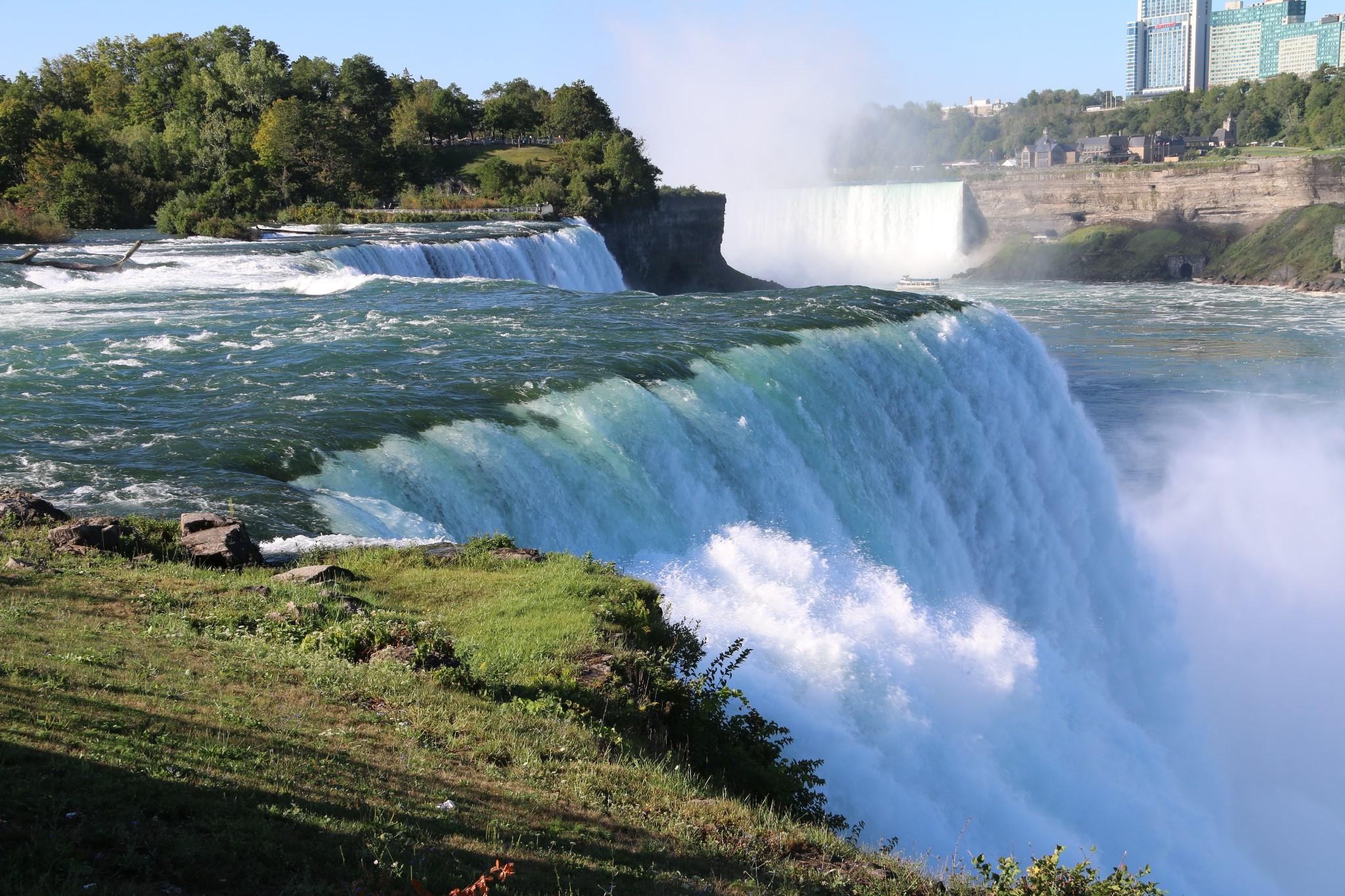 美国东西海岸芝加哥夏威夷大瀑布14天