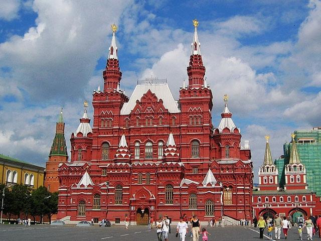 莫斯科(双庄园)、圣彼得堡、经典四星6天豪华游