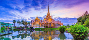 泰国曼谷、芭提雅、金沙岛5晚6天游